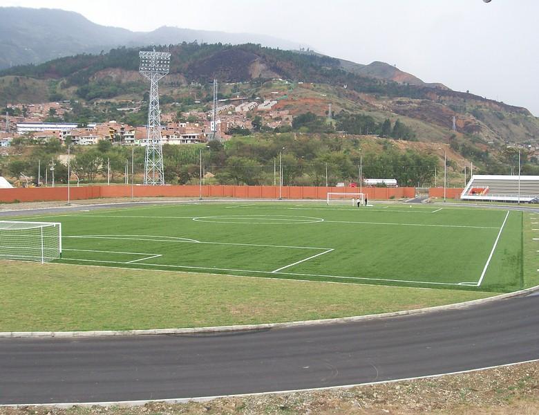 Estadio tulio ospina bello gramas sinteticas cesped - Cesped artificial colombia ...