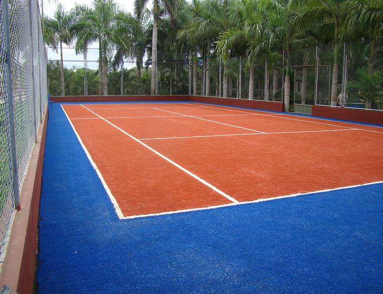 Cancha de tenis monteria gramas sinteticas cesped - Cesped artificial colombia ...